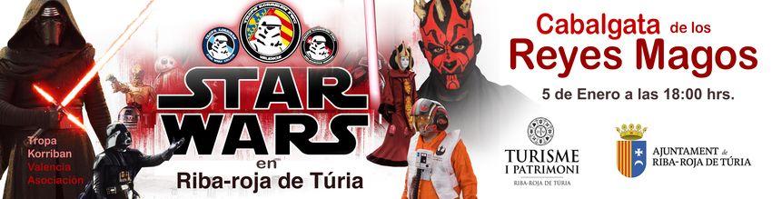 Els mítics personatges de Star Wars desfilaran en la Cavalcada de Reis de Riba-roja el pròxim 5 de gener